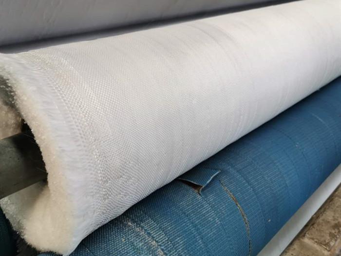 短丝机织土工布