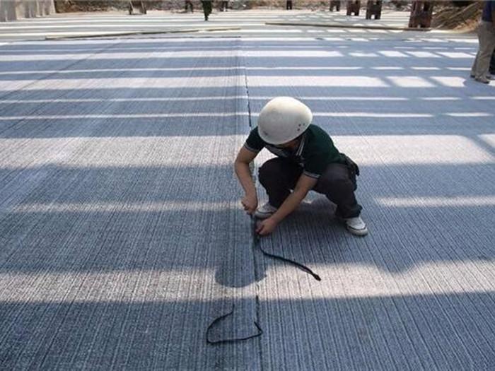防水毯施工